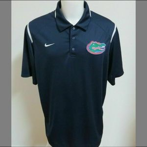 XL Navy Blue Nike Dri-Fit Mens db Poly #02Z Polo